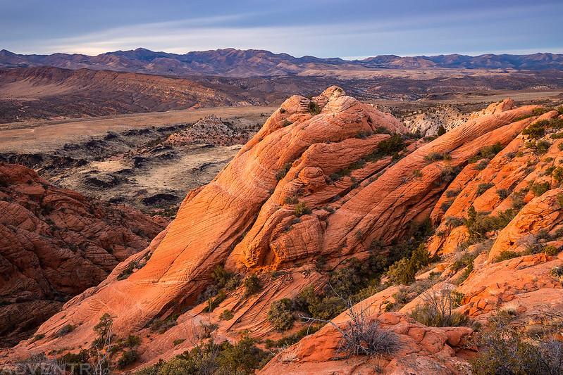 Sandstone Cliffs Below