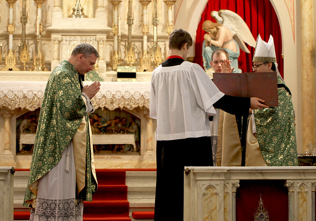 Installation of Fr. Nathan Caswell