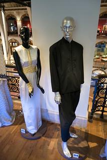 African black suit