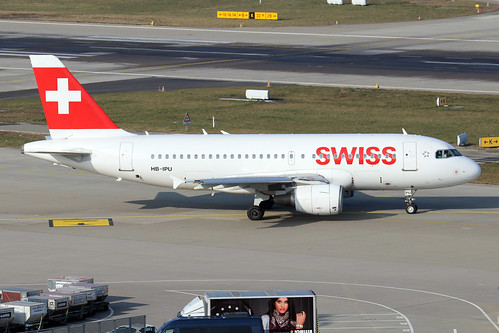 HB-IPU  -  Airbus A319-112  -  Swiss International Airlines  -  ZRH/LSZH 21-1-20 | by Plane Martin