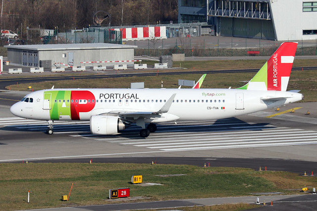 CS-TVA  -  Airbus A320-251N  -  TAP Air Portugal  -  ZRH/LSZH 21-1-20