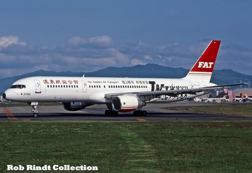 F.A.T. - Far Eastern Air Transport B757-2Q8 B-27001