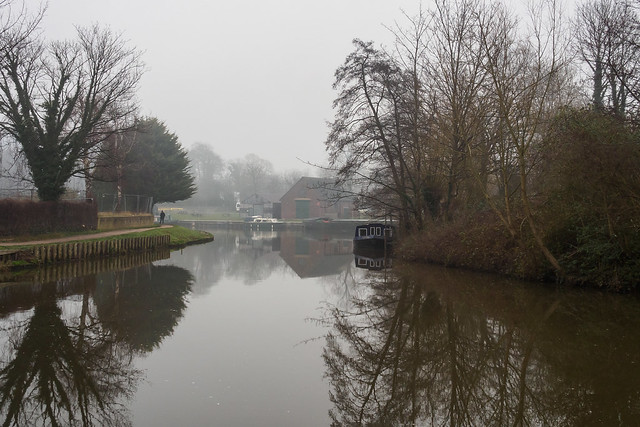 Foggy day on the Wey-F1220404