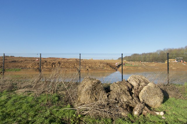 HS2 site seems to be still suffering with flood issues