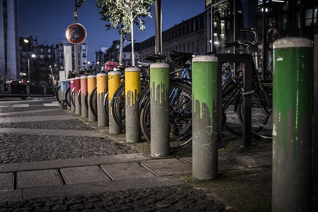 Poteaux à vélos