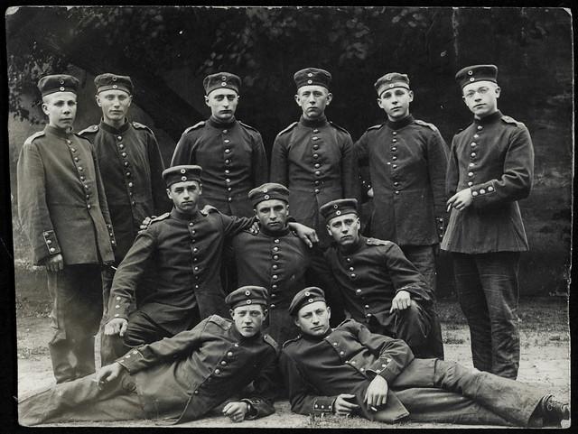ArchivV65 WWI Soldaten, Gruppenfoto, 1914-1918