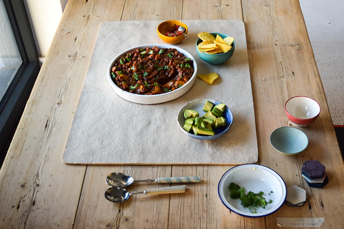 Slow Cooker Mixed Bean Chilli from One Pan Pescatarian