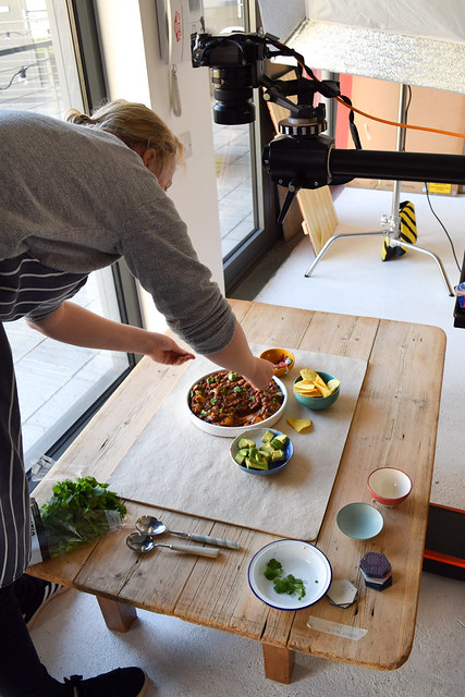 Food Styling for One Pan Pescatarian
