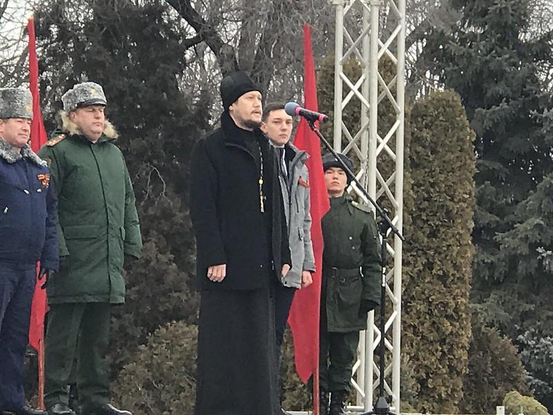 День освобождения от оккупации почтили в Изобильном