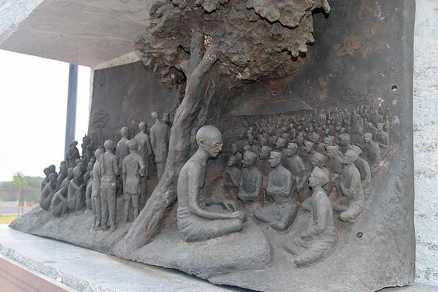 Satyagrah Sculpture, Dandi,  India.