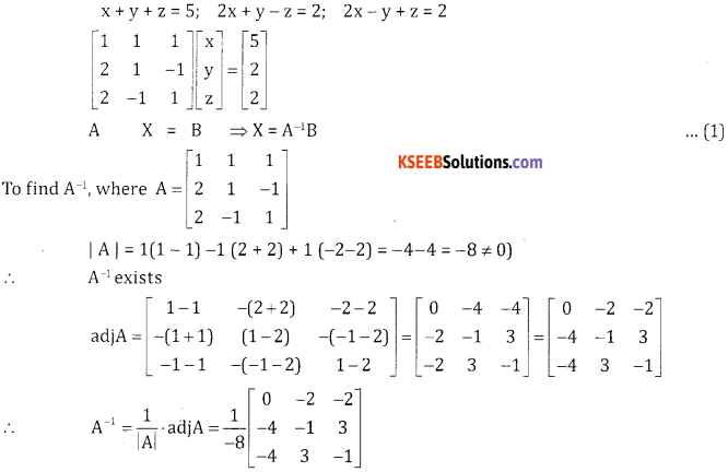 2nd PUC Basic Maths Model Question Paper 1 with Answers - 35