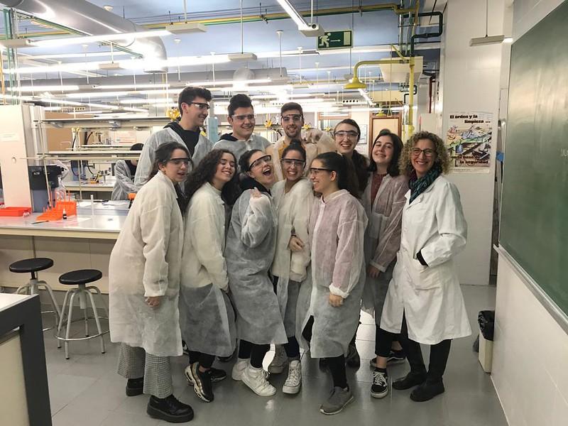 Prácticas en la Facultad de Químicas