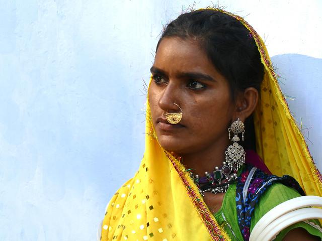 Jeune femme Mir