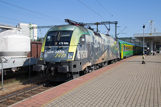 GySEV 470 504 Budapest Kelenföld