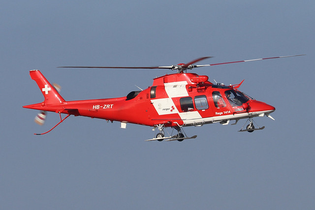 HB-ZRT  -  AgustaWestland AW109SP Grand New  -  Swiss Air Rescue  -  ZRH/LSZH 21-1-20