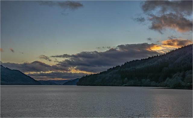 Loch Long in the evening #2