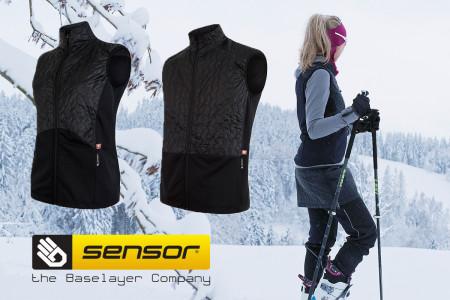 Vyhlášení vítězů soutěže o vesty Sensor Infinity Zero