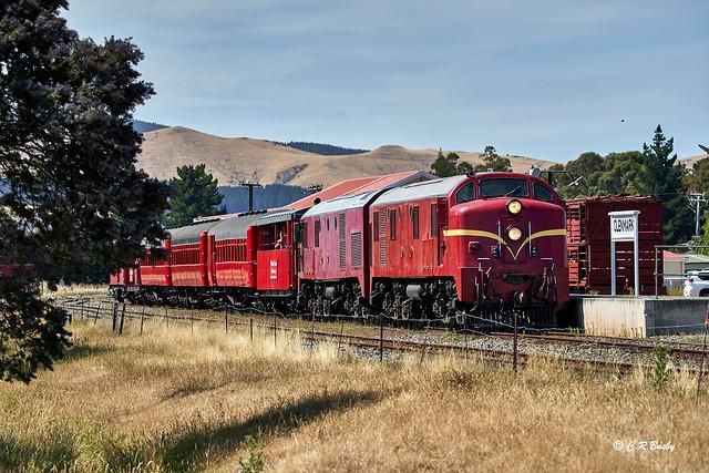 Dg Class Diesel-electric Locomotive No.770 on Weka Pass Railway.