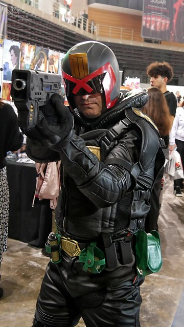 Snapshots from AthensCon 2019 (part 2): Judge Dredd Cosplay