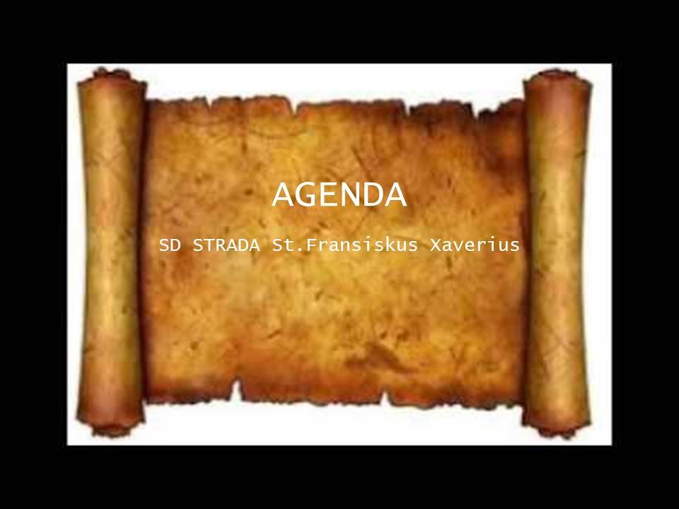 Agenda Bulan Februari 2020 SD Strada St. Fransiskus Xaverius