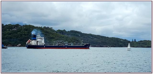 Ship on Sydney Harbour
