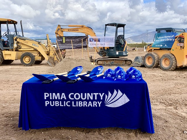 Groundbreaking for new library in Vail, AZ