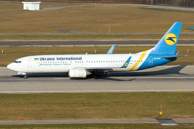 UR-PSH  -  Boeing 737-85R (WL)  -  Ukraine International Airlines  -  ZRH/LSZH 21-1-20