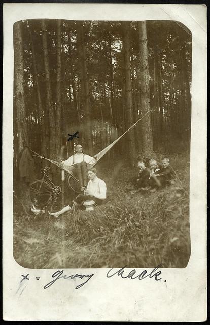 ArchivV62 Radtour (front), Georg Mack, Nürnberg, 23. Juli 1915