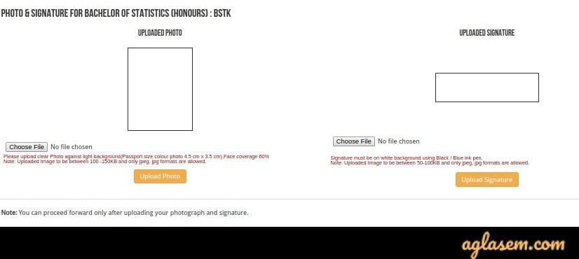 ISI 2020 Form upload images