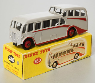 Dinky Toys No. 280 Observation Coach and box