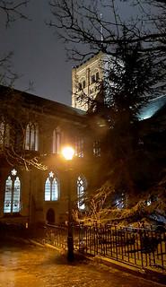 St Albans at night