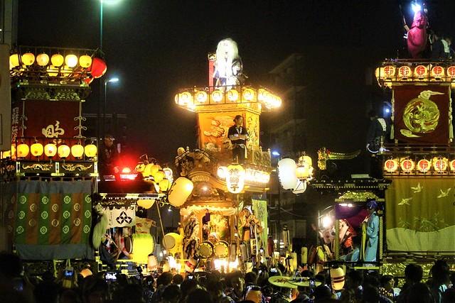 川越氷川神社の大祭でもある通称「川越まつり」