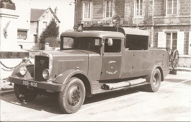 Berliet VDA 18 C 1er secours Guinard pompe Samdi 1934-37