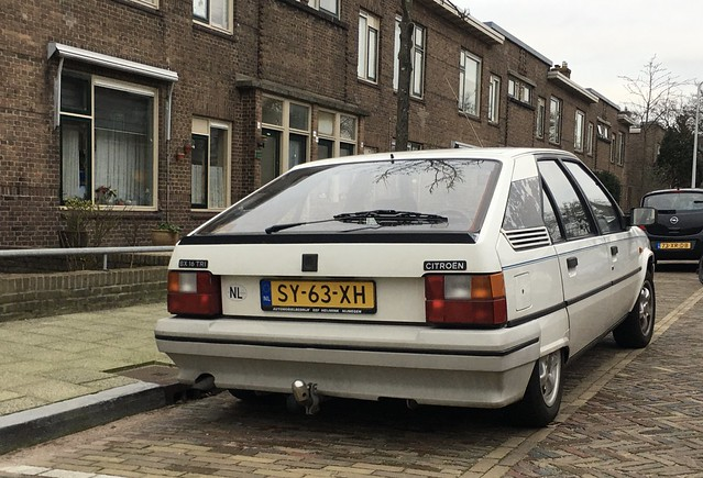 1988 Citroën BX 16 TRI