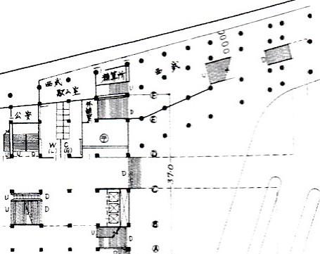 西武新宿線のマイシティ乗り入れ図面 (13)