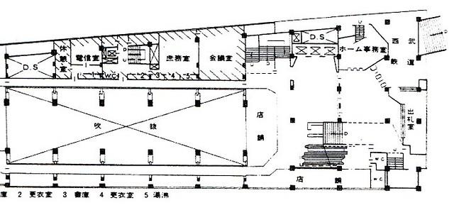 西武新宿線のマイシティ乗り入れ図面 (32)