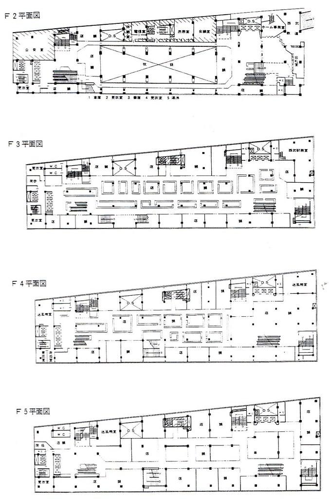 西武新宿線のマイシティ乗り入れ図面 (31)