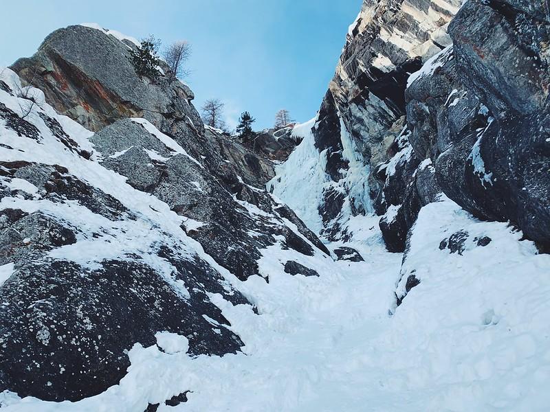 Cogne jääkiipeily