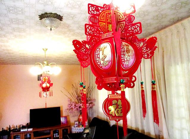 Lanterns, inside