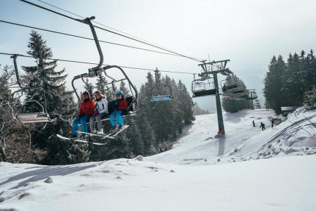 Ski Bike Špičák: šumavská jistota sněhu
