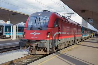 SŽ 541 020 Ljubljana