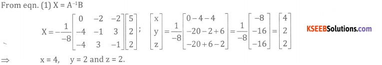 2nd PUC Basic Maths Model Question Paper 1 with Answers - 36