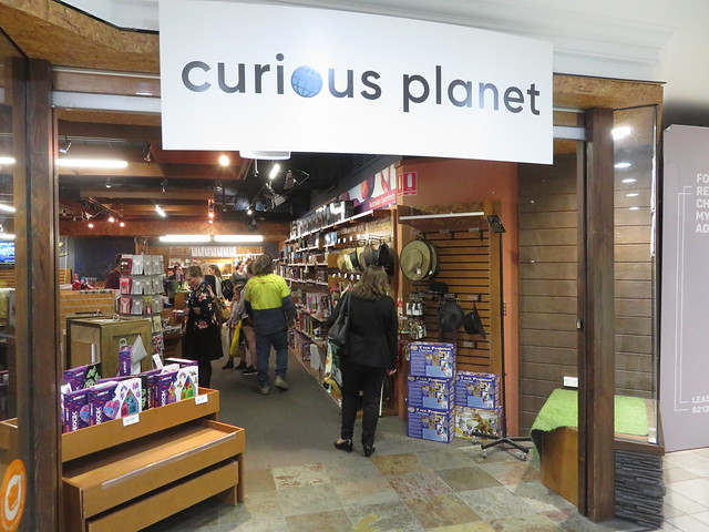 Curious Planet Rundle Mall (Myer Centre) closing down