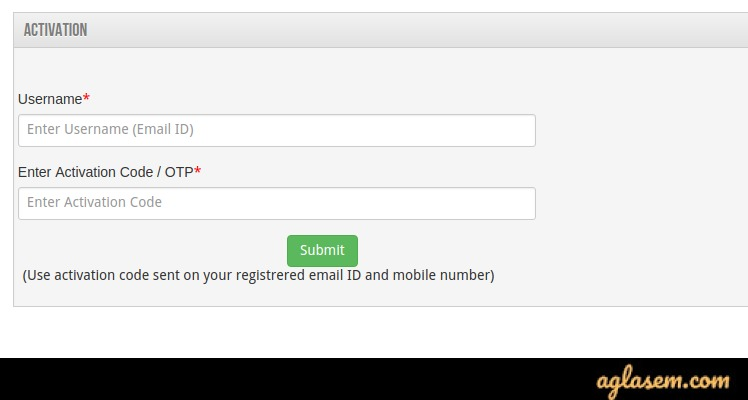 ISI Application Form