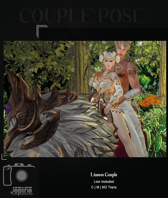 Joplino Lioness Couple [Exclusive FlashShot Event]