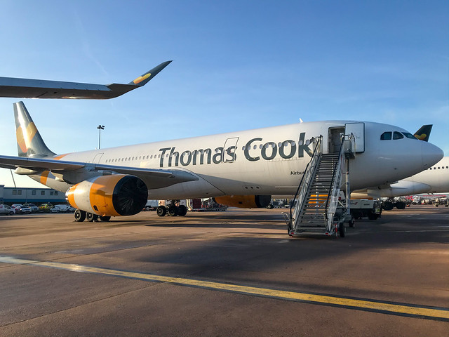 Thomas Cook Airlines Airbus A330-243 G-MLJL