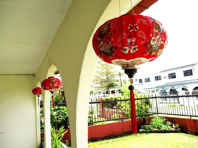 Lanterns, outside