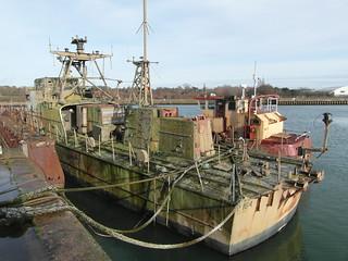 Ex naval patrol vessel P164