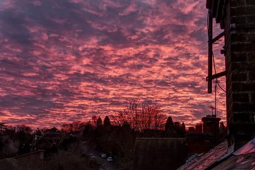 sunset chesham buckinghamshire affinityphoto panasonicg6 lumix