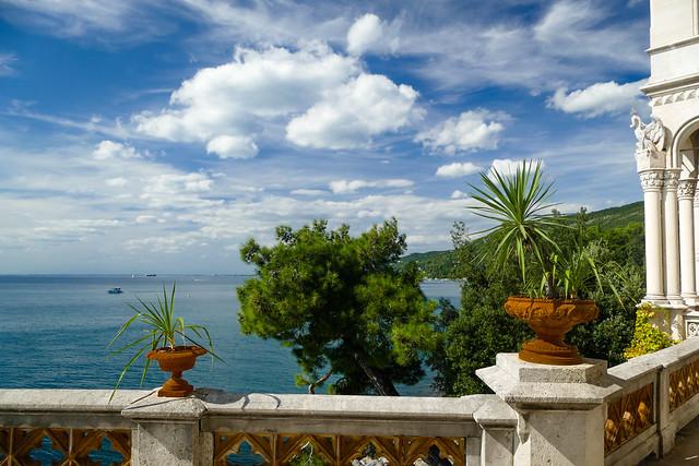 Balcone di Castello Miramare
